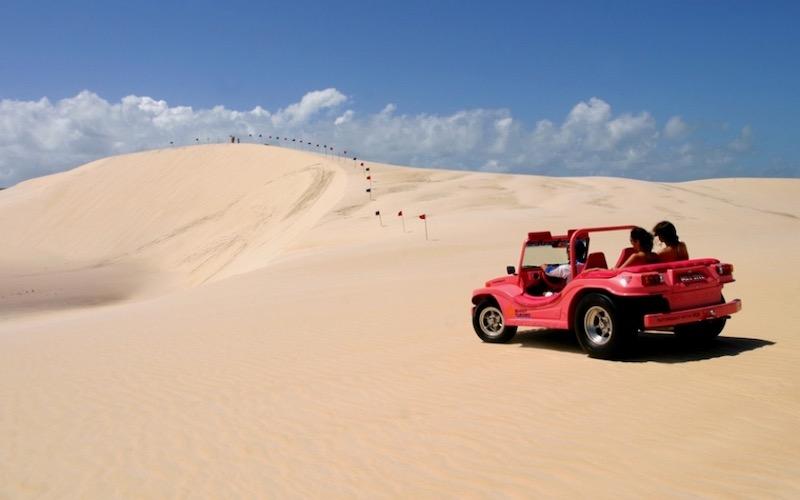 Passeio de buggy em Natal para a Praia de Genipabu
