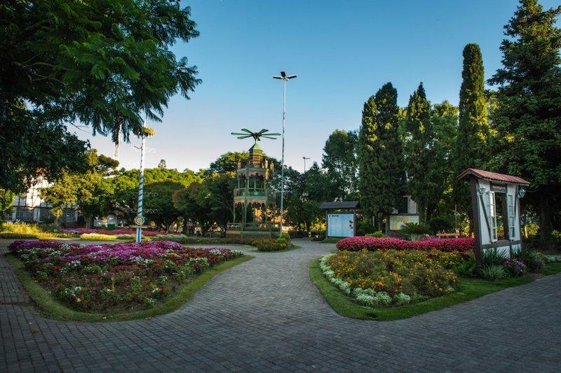 Praça das Flores em Natal