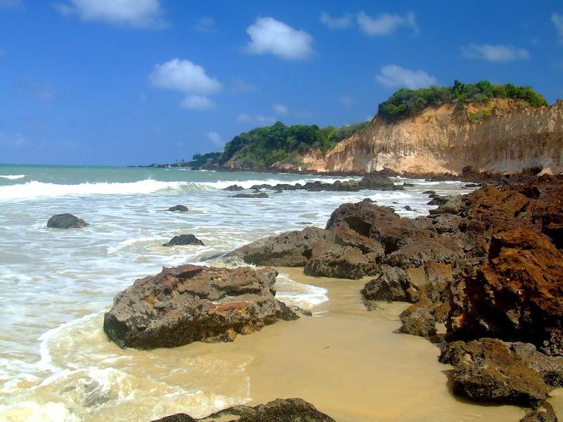 Praia de Cotovelo no Rio Grande do Norte