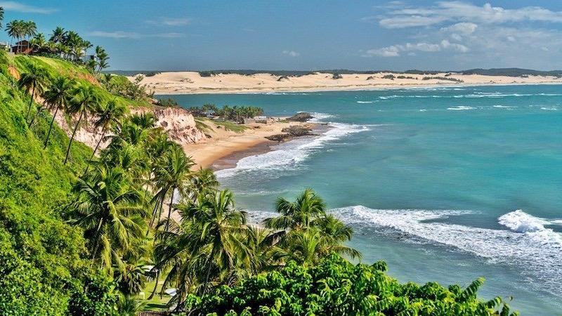 Praia no Rio Grande do Norte