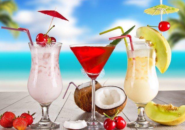 Bebidas em Pipa