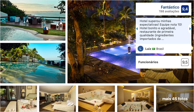 Beija Flor Exclusive Hotel & Spa em Pipa