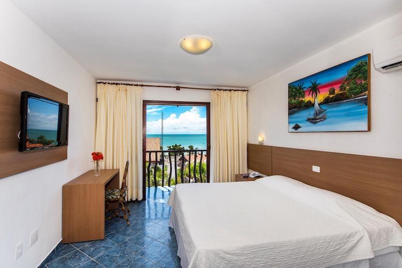 Quarto do D Beach Resort em Natal