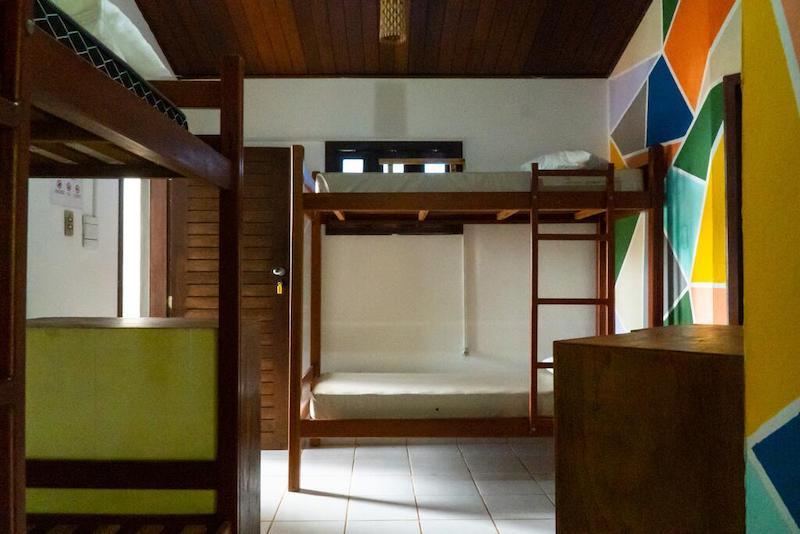 Quarto do Galeria Hostel em Pipa