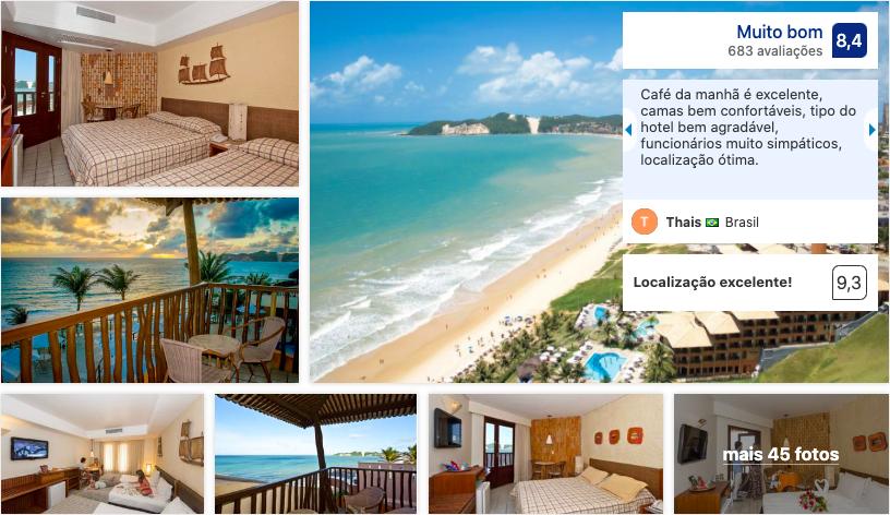 Rifóles Praia Hotel & Resort em Natal