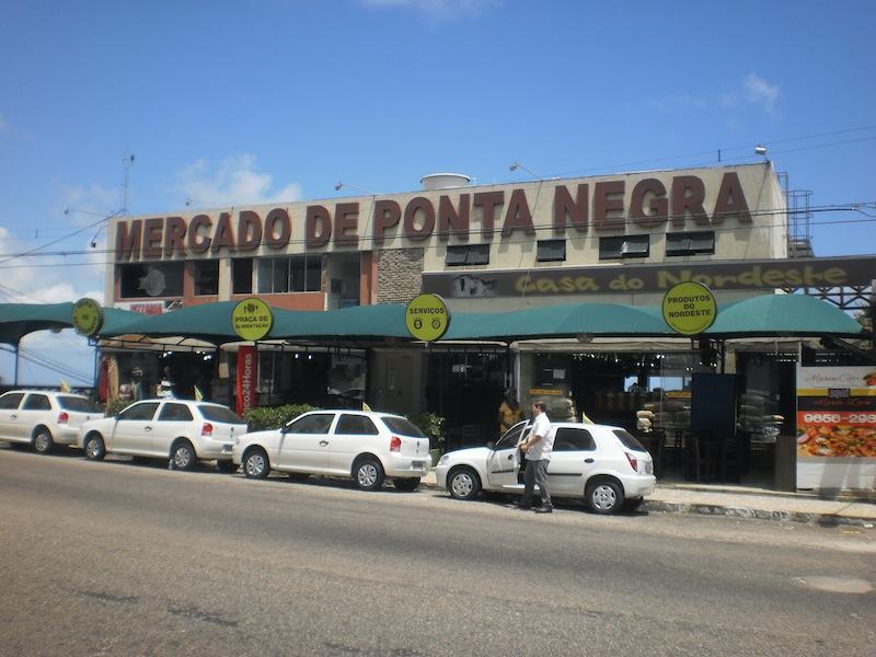 Mercado de Ponta Negra em Natal